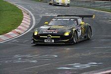 24 h Nürburgring - AMG-Flügeltürer starten mit Dunlop