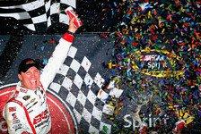 NASCAR - Montoya stand kurz vor dem ersten Oval-Sieg: Harvick gewinnt in der Verl�ngerung