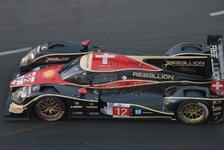 USCC - Porsche weiterhin stark: PLM-Nachttraining: Ausrufezeichen von Rebellion