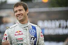 WRC - Besser Gejagter als J�ger: Sebastien Ogier