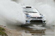 WRC - Loeb l�sst Hirvonen stehen: Argentinien: Ogier hat Loeb im Nacken