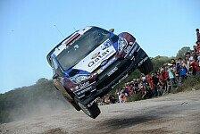 WRC - Neuville weiter vorsichtig: �stberg: Hoffentlich wird es unsere Rallye