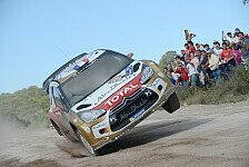WRC - Ogier k�mpft mit dem Auto: Argentinien: Loeb nicht zu stoppen