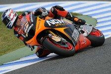 MotoGP - Edwards auf Rang 15: Erste Punkte f�r Forward Racing