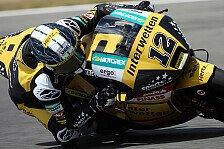 Moto2 - Kampf gegen den Schmerz : Tom L�thi f�hrt auf Platz elf