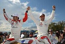 WRC - Das Ende eines gro�en Abenteuers : Loeb: Frankreich-Siegchance von Regen weggesp�lt?