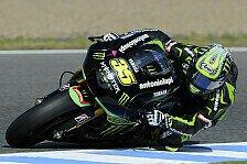 MotoGP - Erfolgreicher Test f�r Tech 3: Crutchlow testet neues Chassis