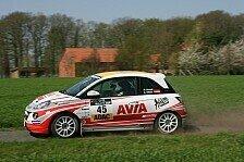 ADAC OPEL Rallye Cup - Immer im Ziel: Avia Racing: Einstieg in Rallye-Sport gegl�ckt