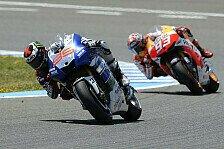 MotoGP - Rookie hat den l�ngeren Atem: Marquez vs. Lorenzo: Die Analyse
