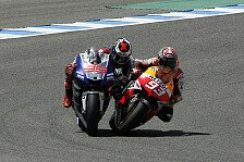 MotoGP - Die Emotionen kochen hoch: Magic Moments 2013: Marquez checkt Lorenzo