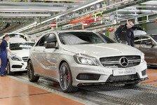 Auto - Mercedes-Demonstration auf der Nordschleife