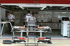 Formel 1 - Ein kleiner Schritt: Sauber: Fortschritte im Heckbereich