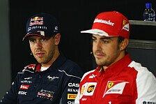 Formel 1 - Monaco wird spannend: Surer: Vettel & Alonso auf Augenh�he
