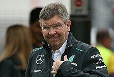 Formel 1 - Teamchef will sich mit Lowe arrangieren: Brawn: Fr�her oder sp�ter trete ich zur�ck