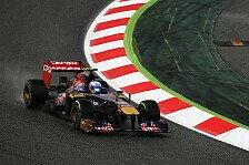 Formel 1 - Ricciardo ist jedes Wetter Recht: Leichte Regenchance am Samstag
