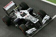 Formel 1 - Performance nicht akzeptabel: Williams: Kein Entwicklungs-Stopp am FW35