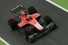 Formel 1 - Bianchi und Chilton pausieren: Marussia testet mit Gonzalez und Ellinas