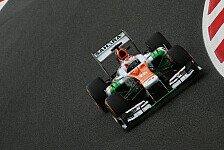 Formel 1 - Gute Aussichten f�r das Rennen: Di Resta: Freude �ber Platz zehn