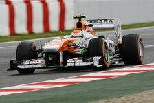 Formel 1 - Wissbegierig & wenig wasserscheu: Sutil: Die Balance stimmt bereits