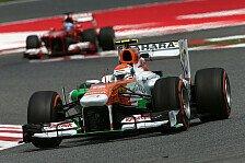 Formel 1 - Nicht auf den Punkt gebracht: Verkehr �rgert Sutil gewaltig