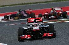 Formel 1 - Unsere Form ist besch�mend: Button: Kritik an Mercedes-Einf�hrungsrunde