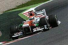 Formel 1 - Mentale St�rke gefragt: Trotz Pleitenserie: Force India h�lt zu Sutil