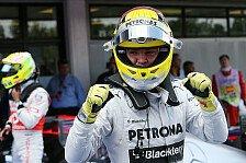 Formel 1 - Rosberg & Hamilton von ganz vorne: Silberne Startreihe 1: Mercedes bleibt vorsichtig