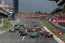 Formel 1 - Von hart zu weich: Pirelli: Reifenwahl f�r den Europa-Auftakt