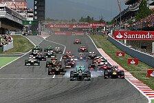 Formel 1 - Mercedes-Konkurrenz massiv unter Druck: Vorschau: Spanien GP