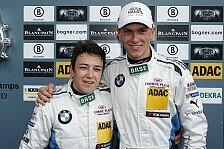ADAC GT Masters - Schwierige Bedingungen mit abtrocknender Strecke: H�rtgen und Baumann triumphieren in Spa im BMW