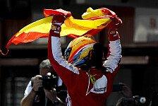 Formel 1 - Ein unglaublicher Erfolg: Alonso: Fantastische Emotionen beim Heimsieg