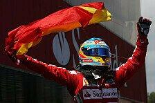 Formel 1 - Im Einklang mit fr�heren Entscheidungen: Alonso: Keine Strafe f�r Flaggenjubel