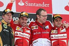 Formel 1 - Dreamteam Alonso und R�ikk�nen: Domenicali: Konkurrenz hat Angst