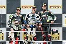 Superbike - Sp�te �nderung: Sykes wieder auf Platz drei: Guintoli bleibt doch Vierter