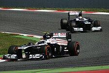 Formel 1 - Lob von Williams: Bottas anpassungsf�higer als Maldonado