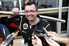 Formel 1 - Wollen den anderen Teams Kopfschmerzen bereiten: Eric Boullier