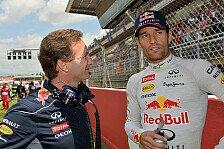 Formel 1 - Platz drei in der Fahrer-WM angepeilt: Horner: Webber will Brasilien-Sieg nicht geschenkt