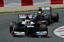 Formel 1 - Die Hoffnung stirbt zuletzt: Williams: Der Wagen hat Potenzial