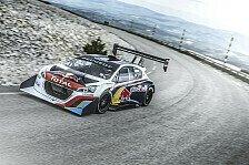 Rallye - Loeb mit Probefahrt auf dem Mont Ventoux