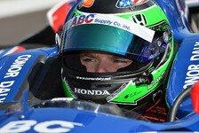 IndyCar - Zu 150 Millionen Prozent: Daly: Richtige Zeit f�r Wechsel zu IndyCars