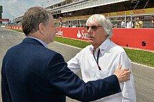 Formel 1 - Er hat jeden Anspruch auf seinen Job: Todt spricht sich f�r Ecclestone aus