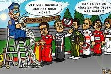 Formel 1 - Maximale Punkteausbeute?: Comic: Fr�h �bt sich der Punktesammler