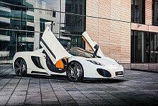 Auto - Ungefilterter Fahrspa�: Gemballa pr�sentiert GT-Paket f�r McLaren MP4-12C