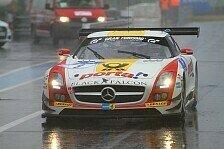 24 h N�rburgring - Aston Martin zur�ckgefallen: Black Falcon-Mercedes in Front