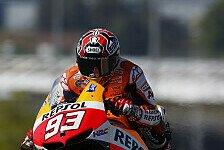 MotoGP - Dovizioso platziert Ducati in erste Reihe: Marquez f�hrt auf Zweitmaschine zur Pole