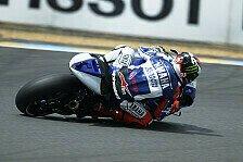 MotoGP - Crutchlow mit Verletzung auf Zwei: Lorenzo gibt die Pace im Warm-Up vor