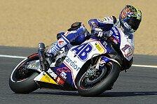 MotoGP - Rang vier im ersten Training: Angeschlagener Abraham mit guten Resultaten