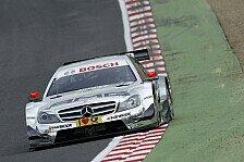 DTM - Am Ende des Feldes: Mercedes erleidet im Qualifying Schiffbruch