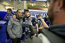 Formel 1 - Bilder: Hamilton besucht Yamaha in Le Mans