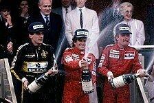 Formel 1 - Die Podien seit 1980 in Monte Carlo